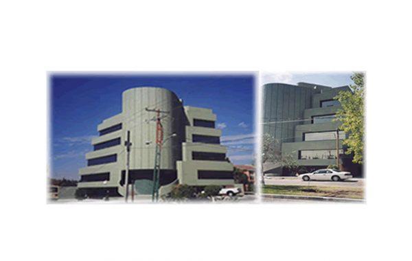 """Edificio """"El Dorado"""", Plaza del Parque, Querétaro."""
