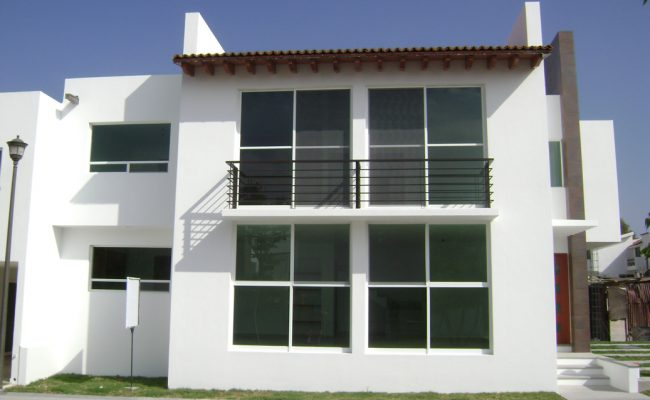 Construcción de casas residenciales en Querétaro