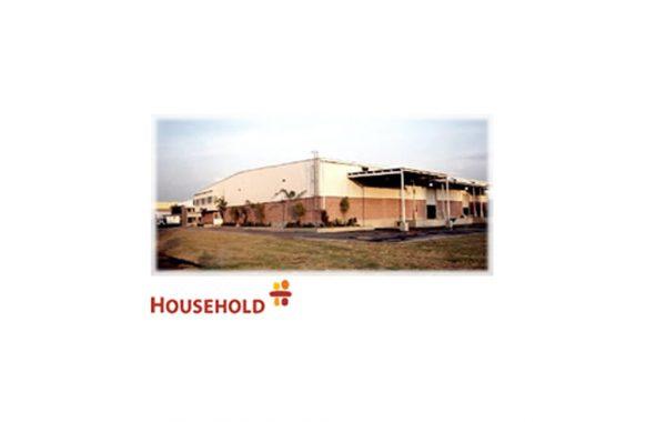 Construcción de la nave de manufactura y oficinas administrativas HOUSEHOLD