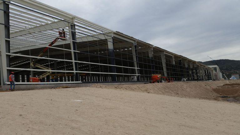 Construcción de naves industriales en Qro